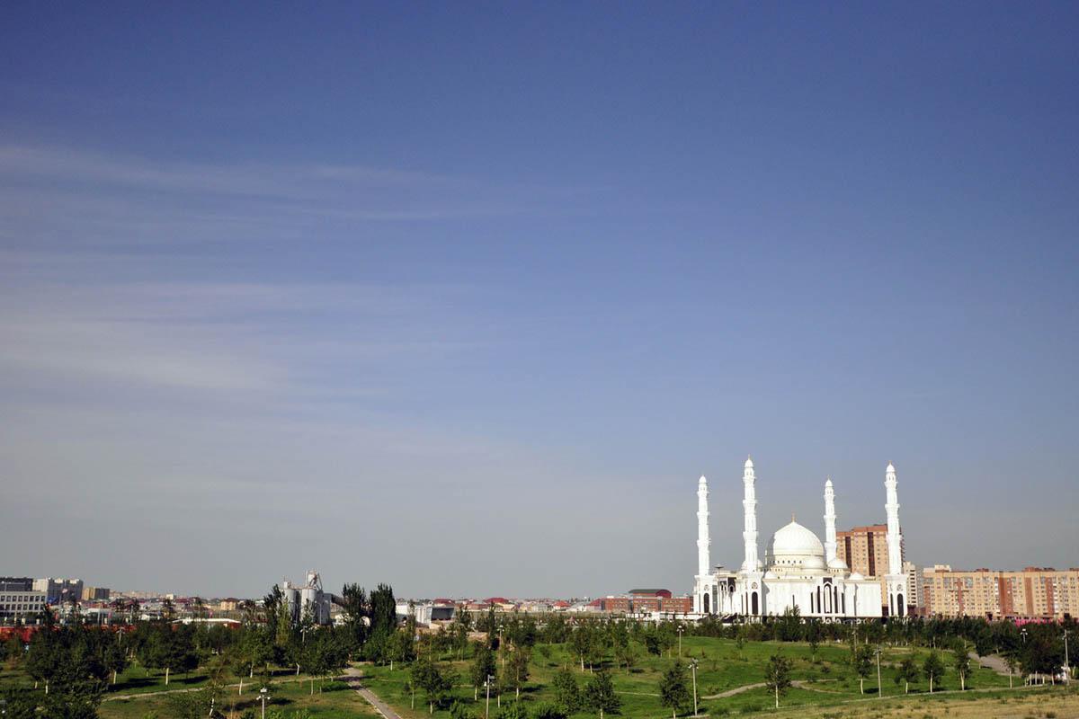 мечеть Хазрет Султан в Астане, Казахстан