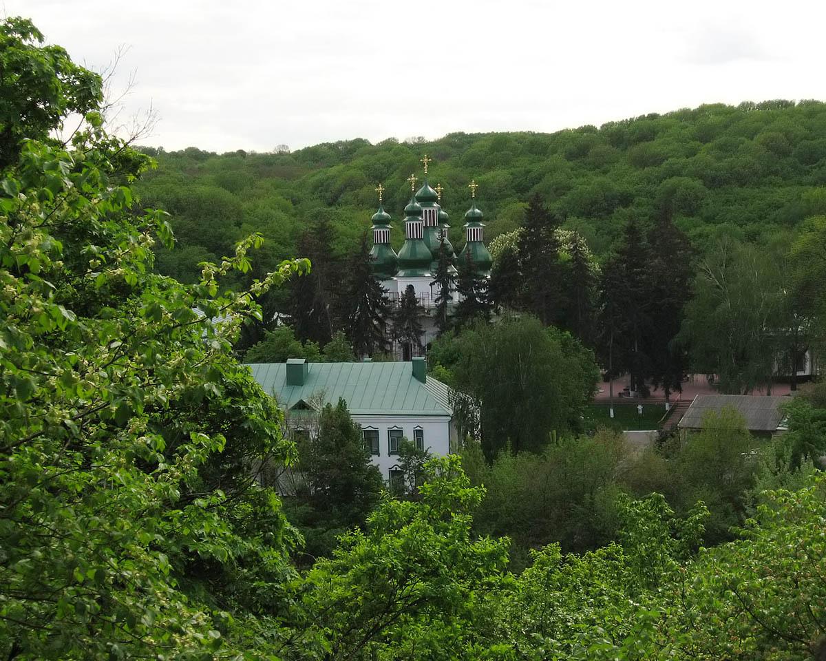 монастырь Китаевская Пустынь, Киев