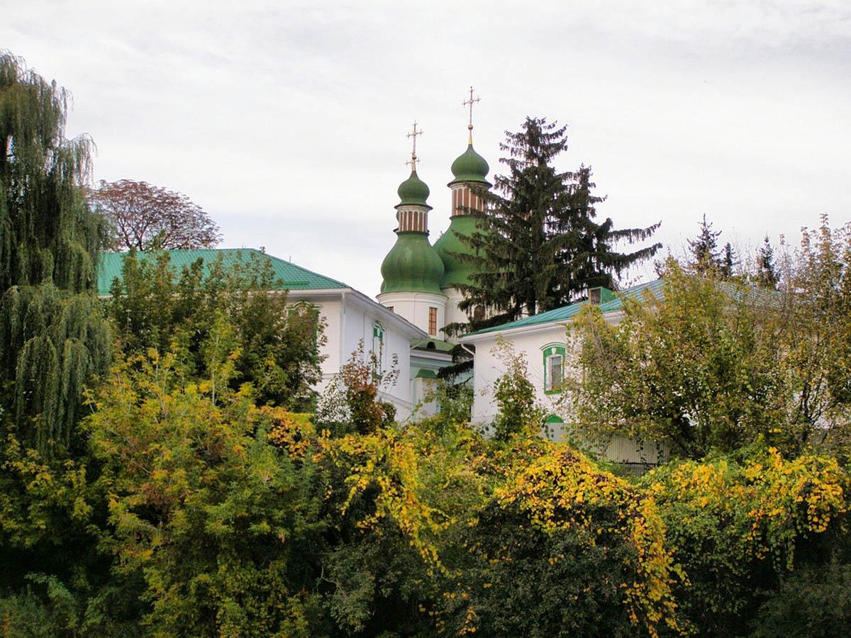 монастырь Китаевская Пустынь в Киеве