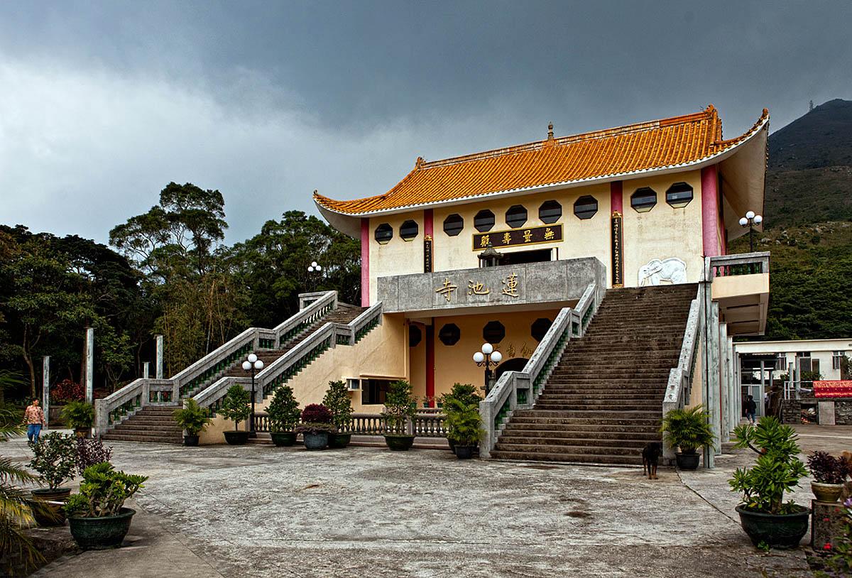монастырь По Лин, остров Лантау, Гонконг, Китай