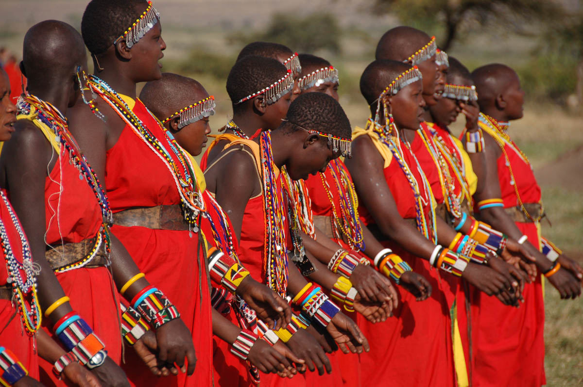 народ масаи, заповедник Масаи Мара, Кения