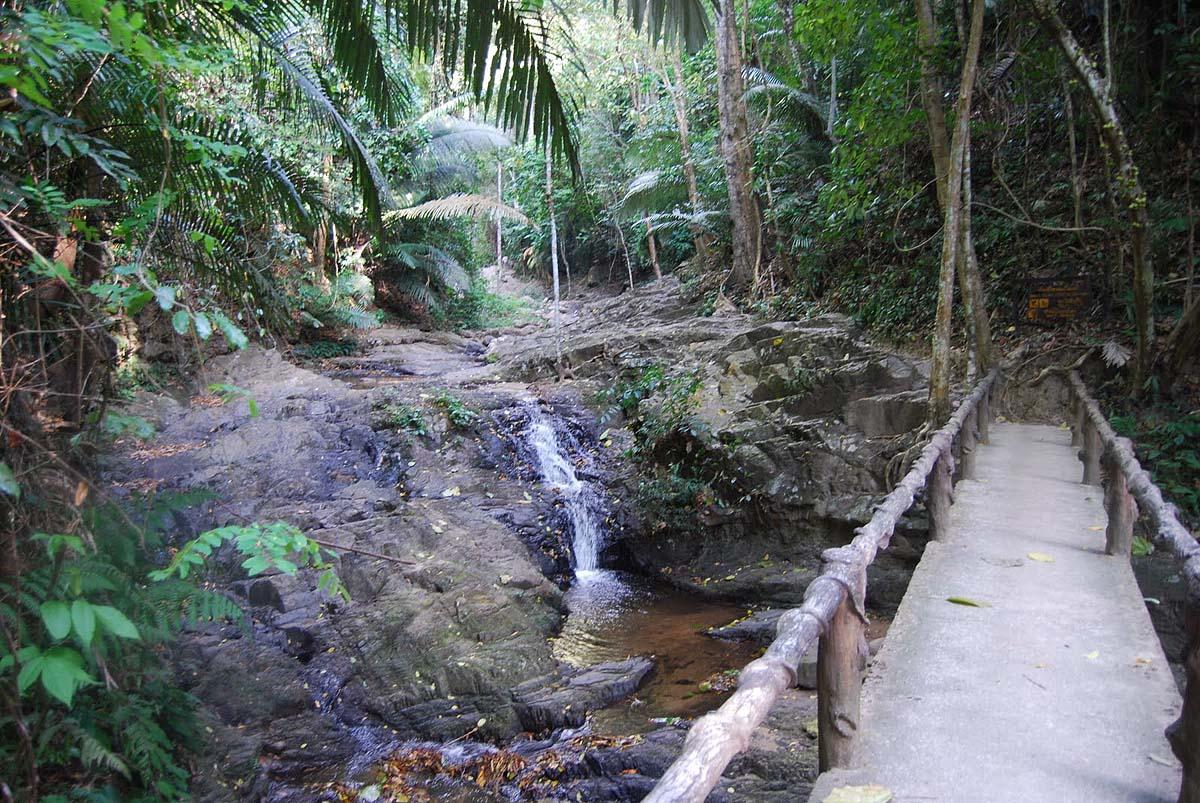 национальный парк Кхао Пханом Бенча, Краби, Тайланд