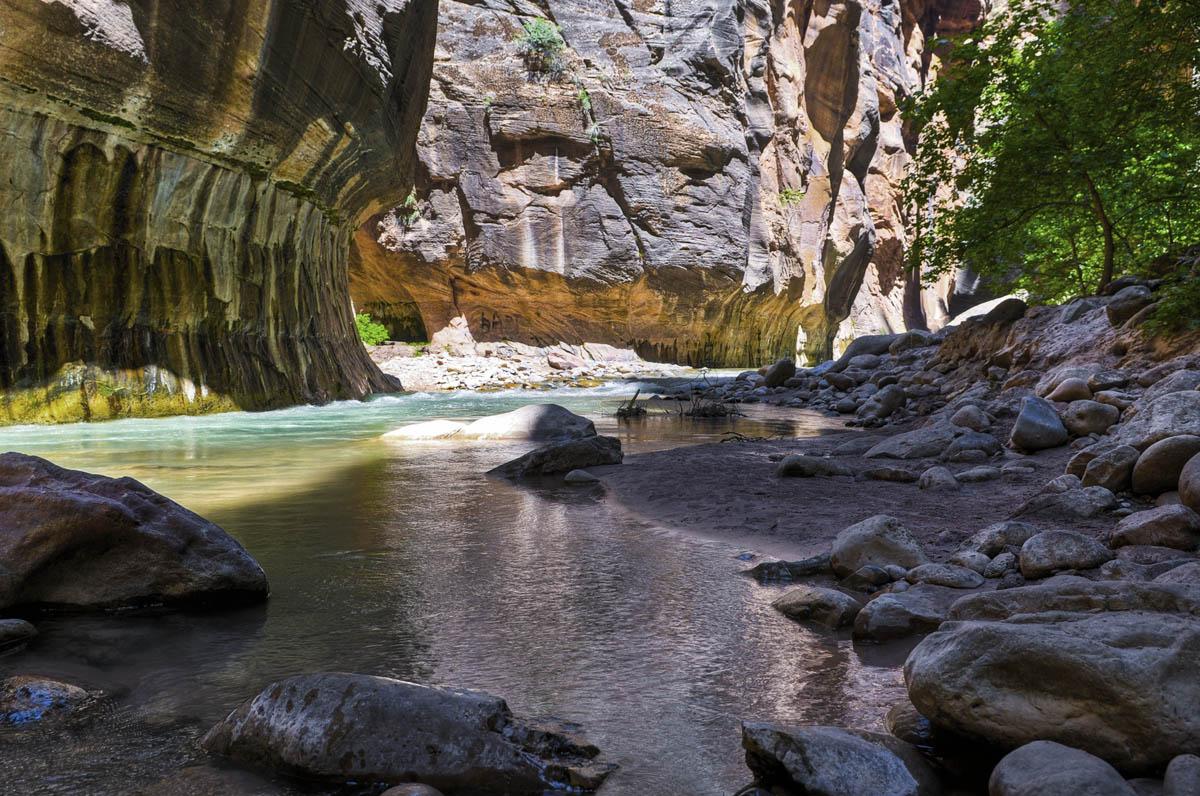 национальный парк Зайон, штат Юта, США