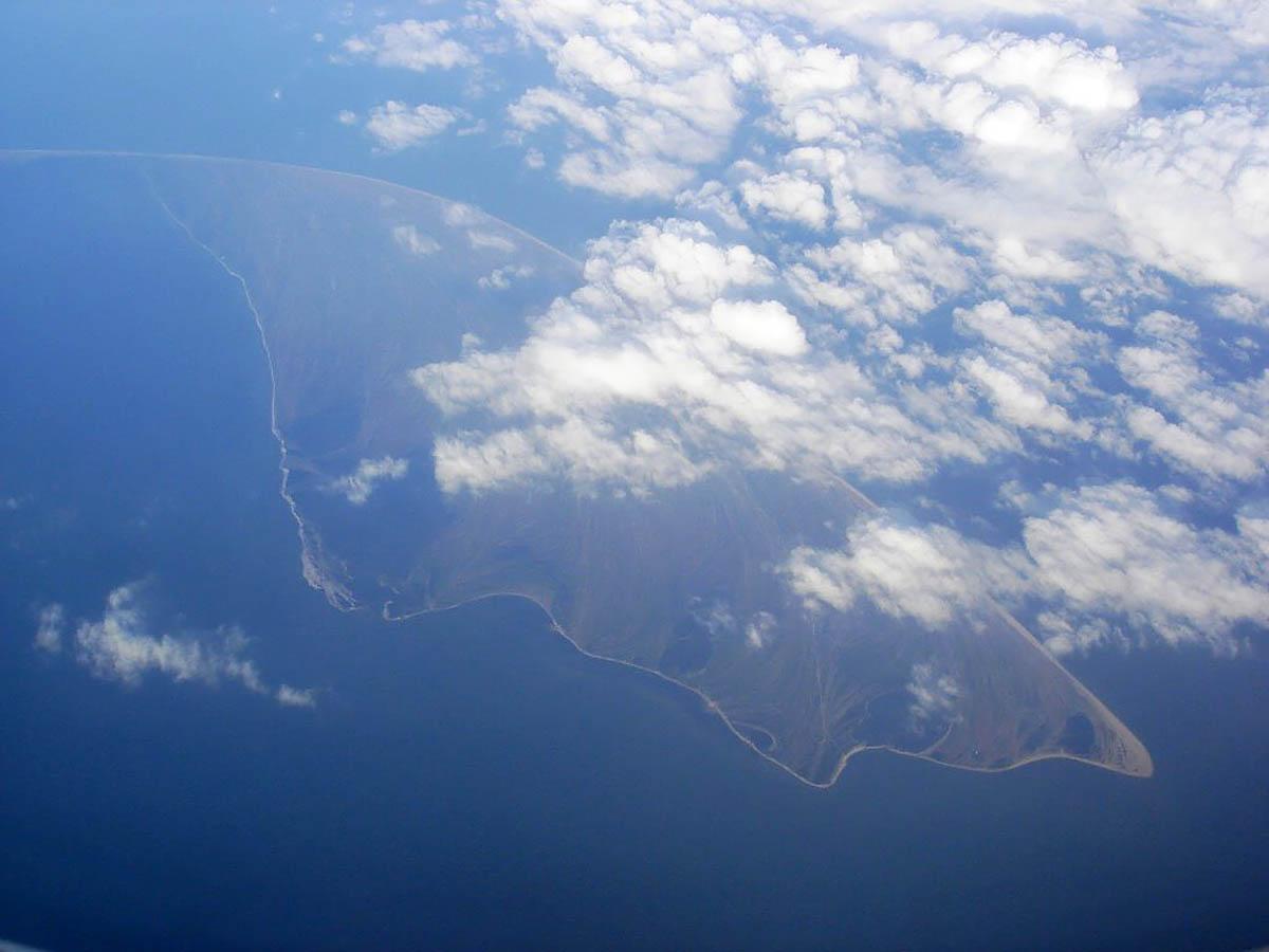 остров Бирючий в Азовском море