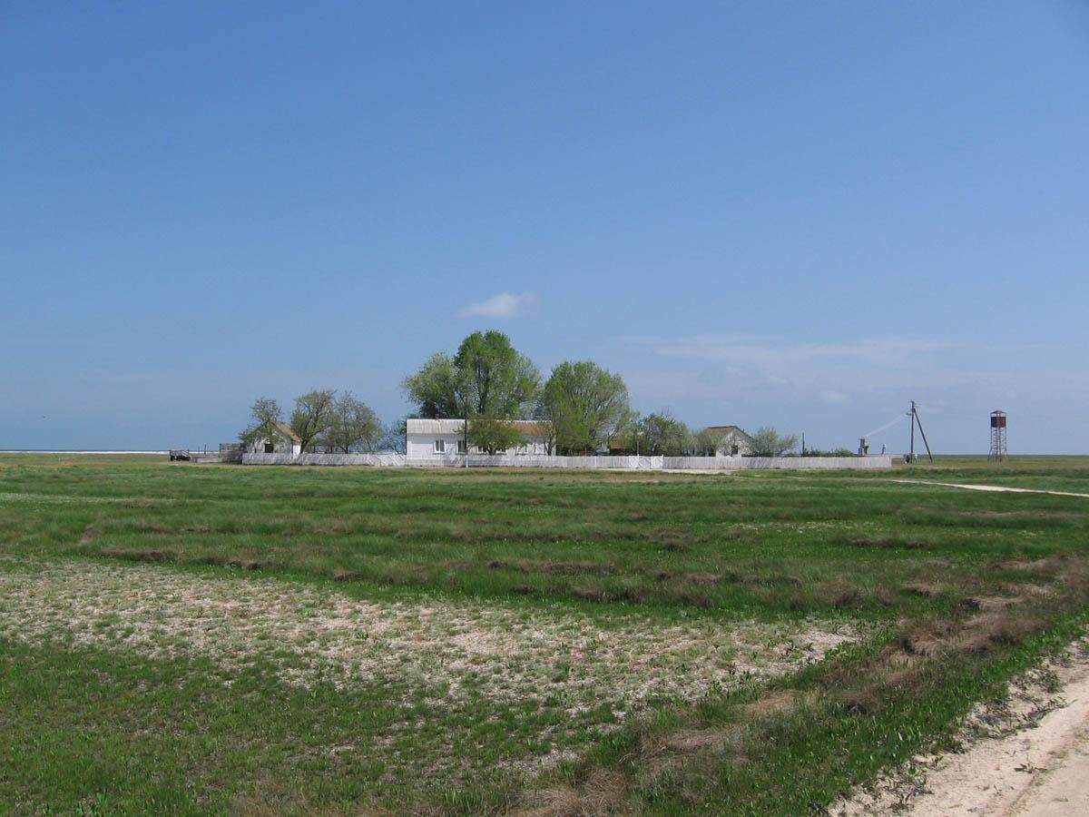 остров Бирючий в Украине