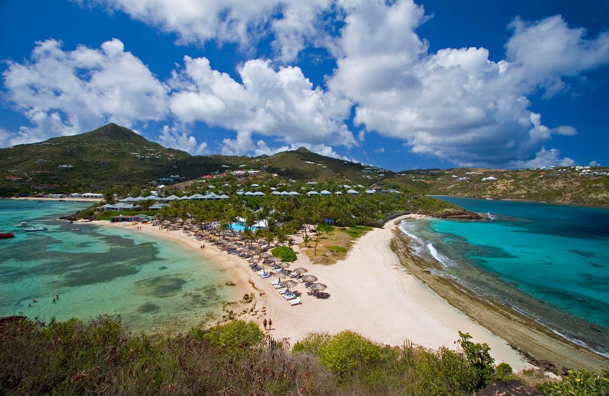 остров Сант-Бартелеми, Карибы, Франция