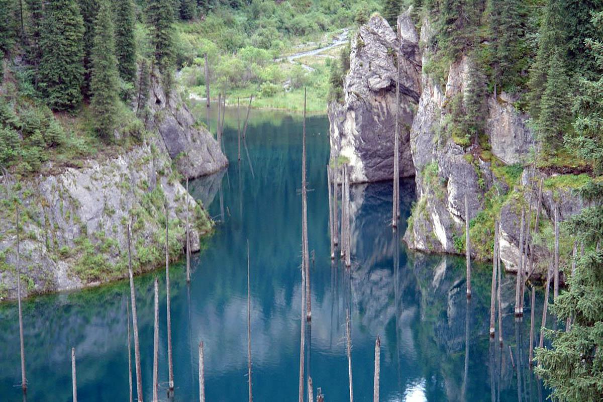 озеро Кайнды