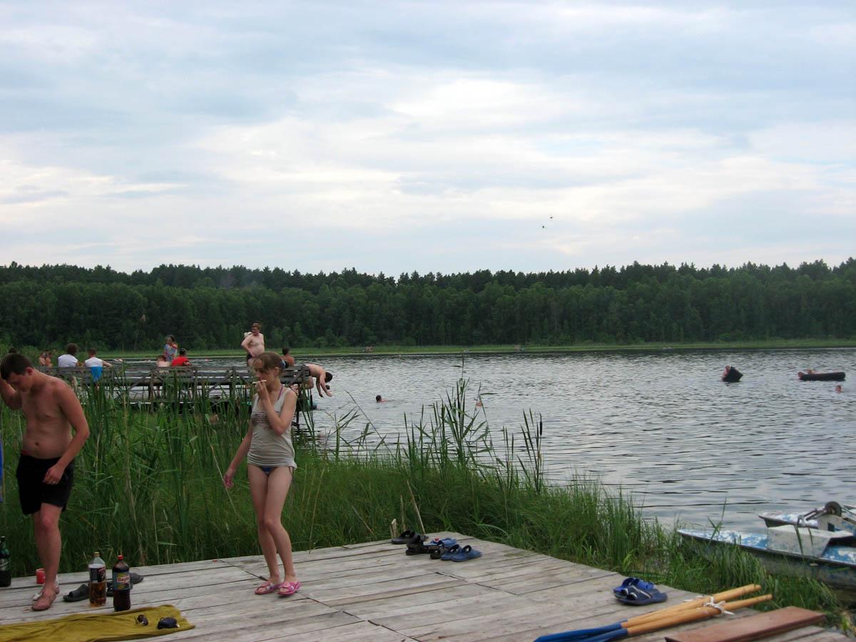 озеро Линево в Новосибирске