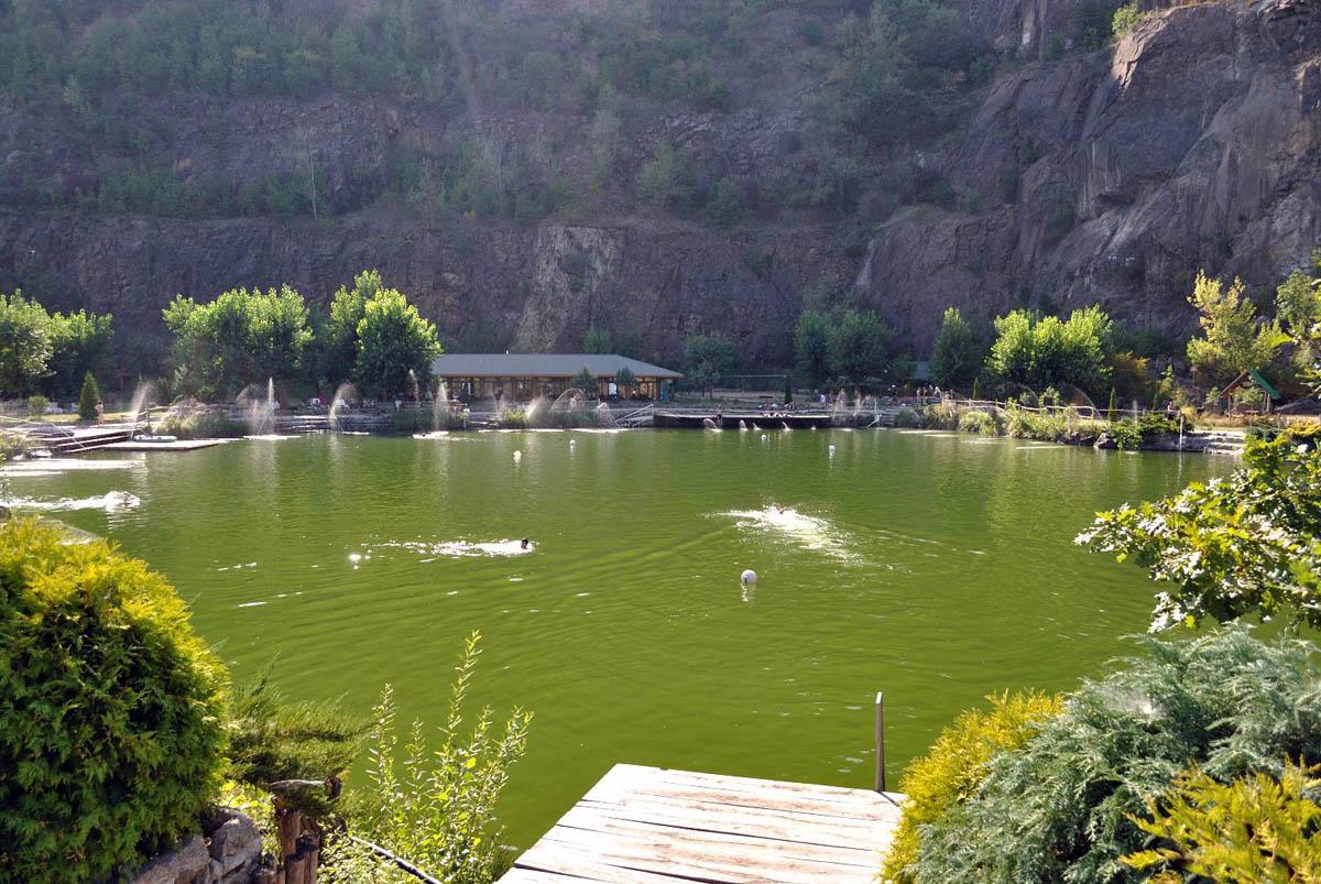 озеро под Черной горой, Виноградов, Закарпатье