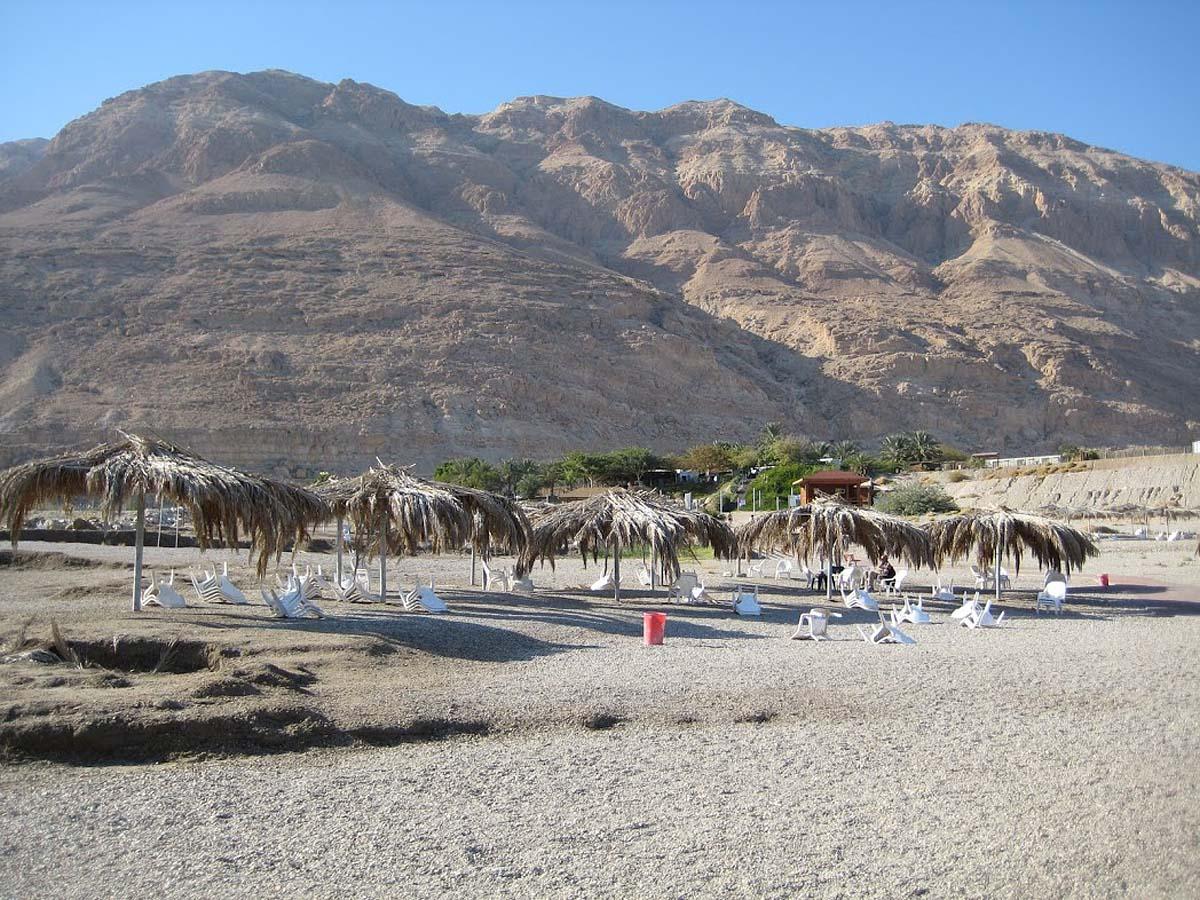 пляж Минерал на Мертвом море, Израиль
