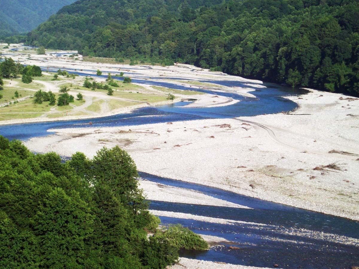 река Чудо-Красотка, Лазаревское, Сочи