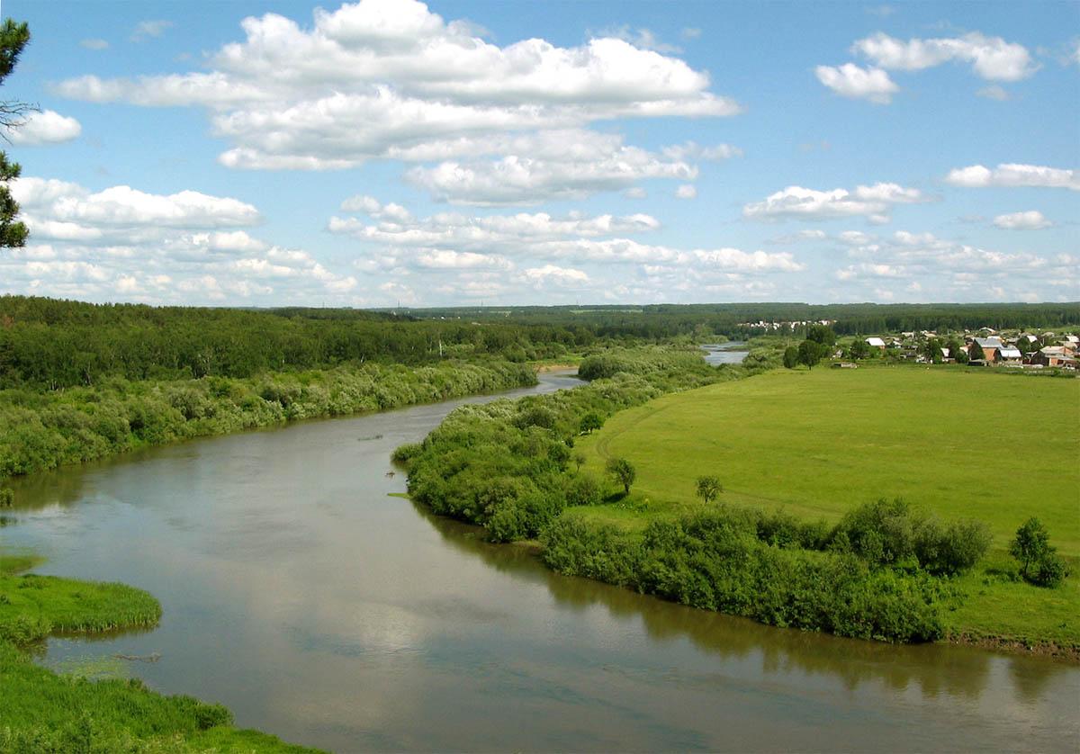 река Обь, Бийск