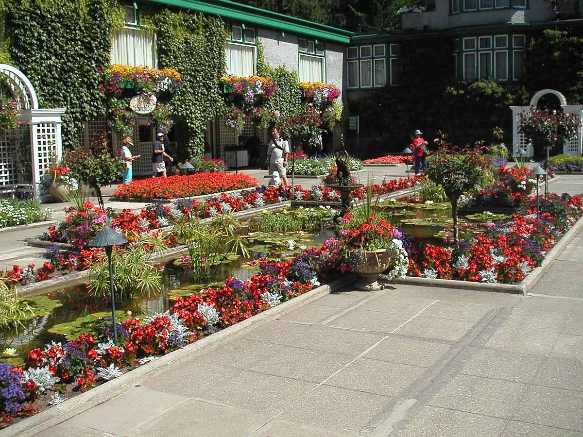 сады Бутчарт, Британская Колумбия, Ванкувер, Канада
