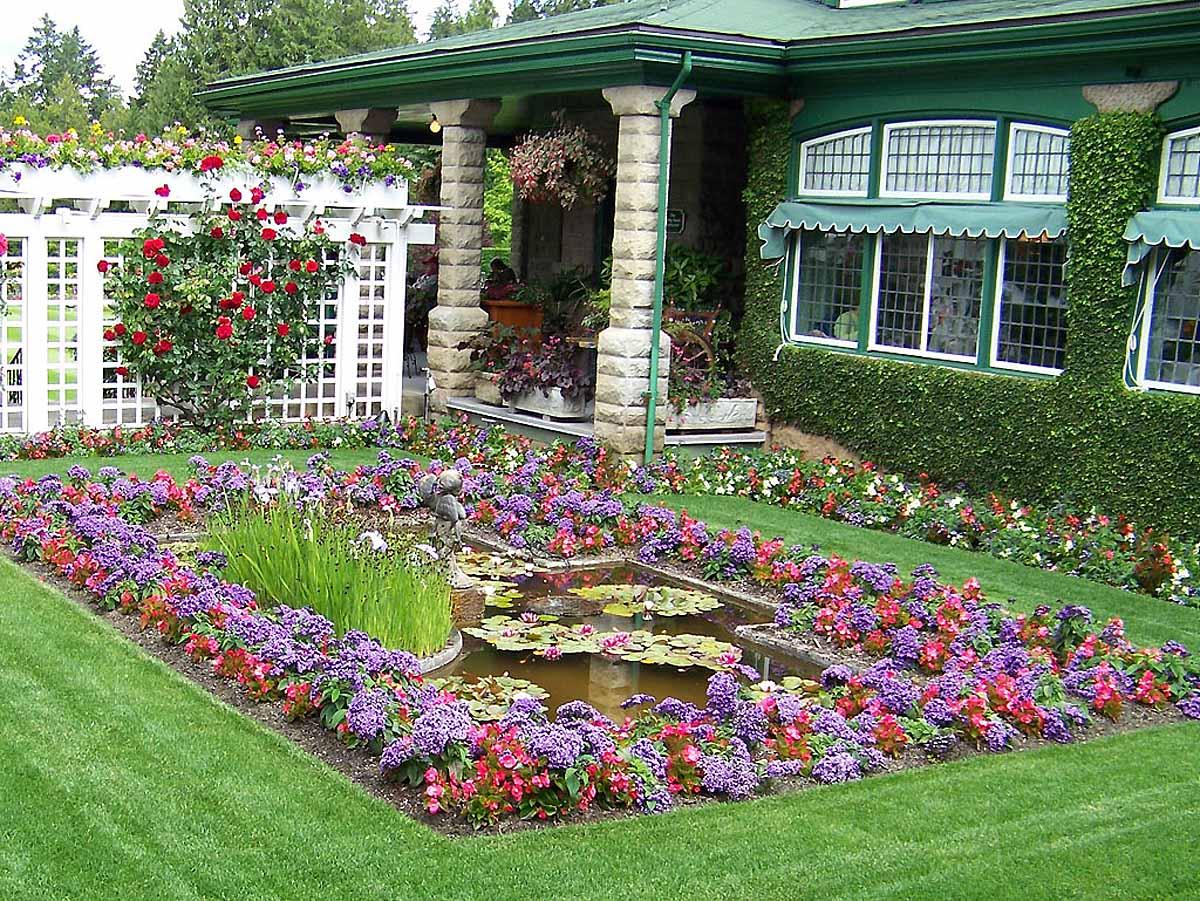 сады Бутчарт, Ванкувер