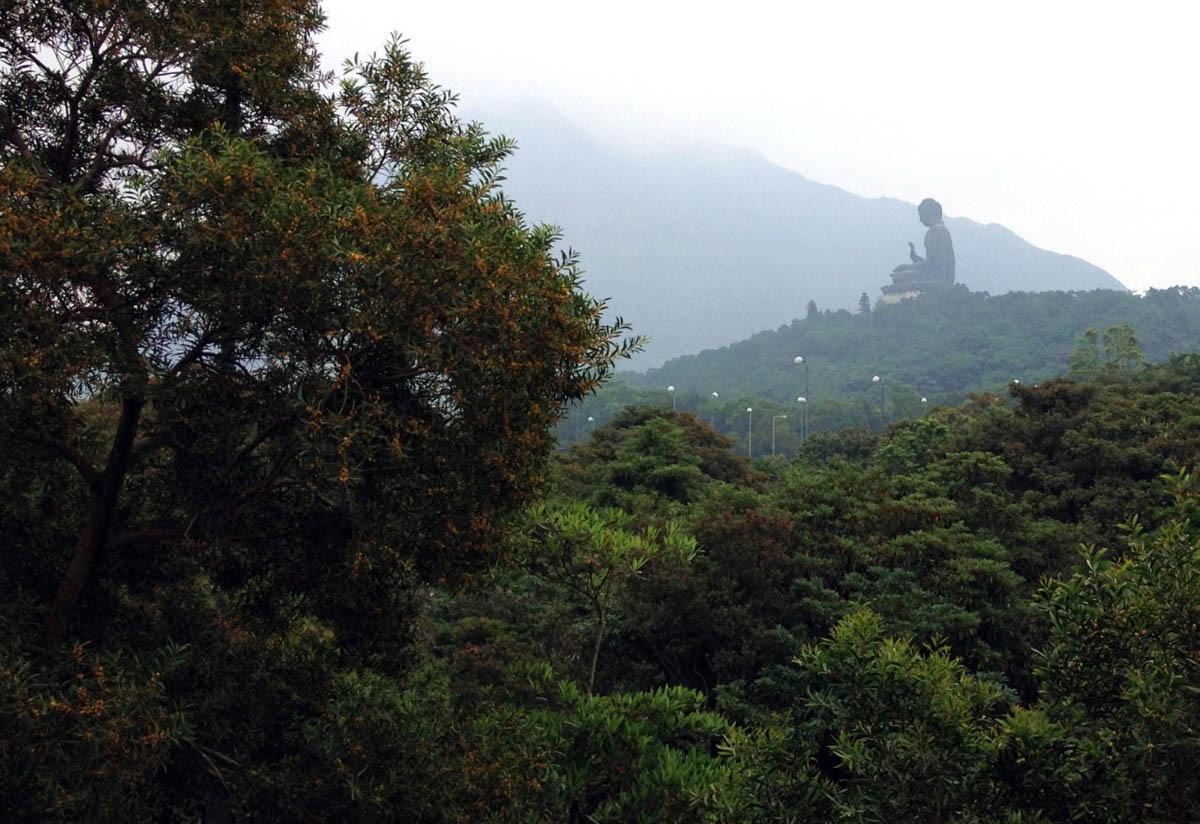 статуя Биг Будда, остров Лантау, Гонконг, Китай