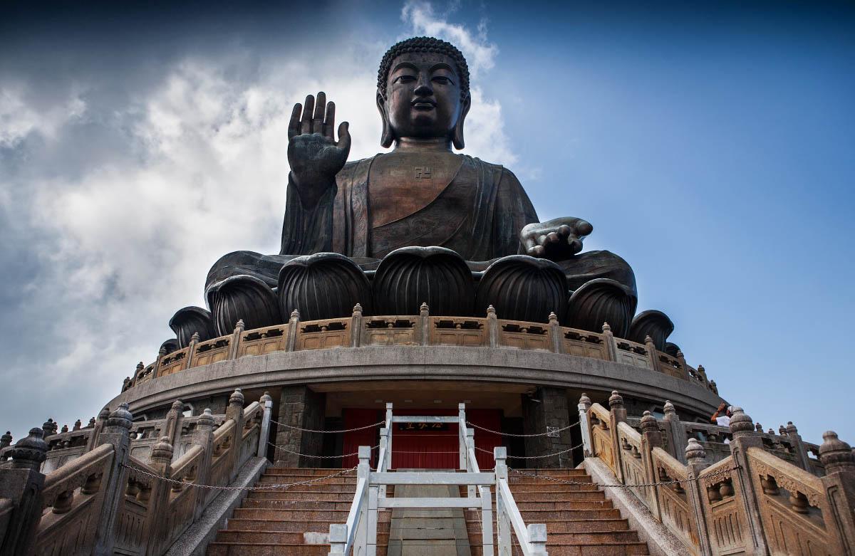 статуя Биг Будда, остров Лантау