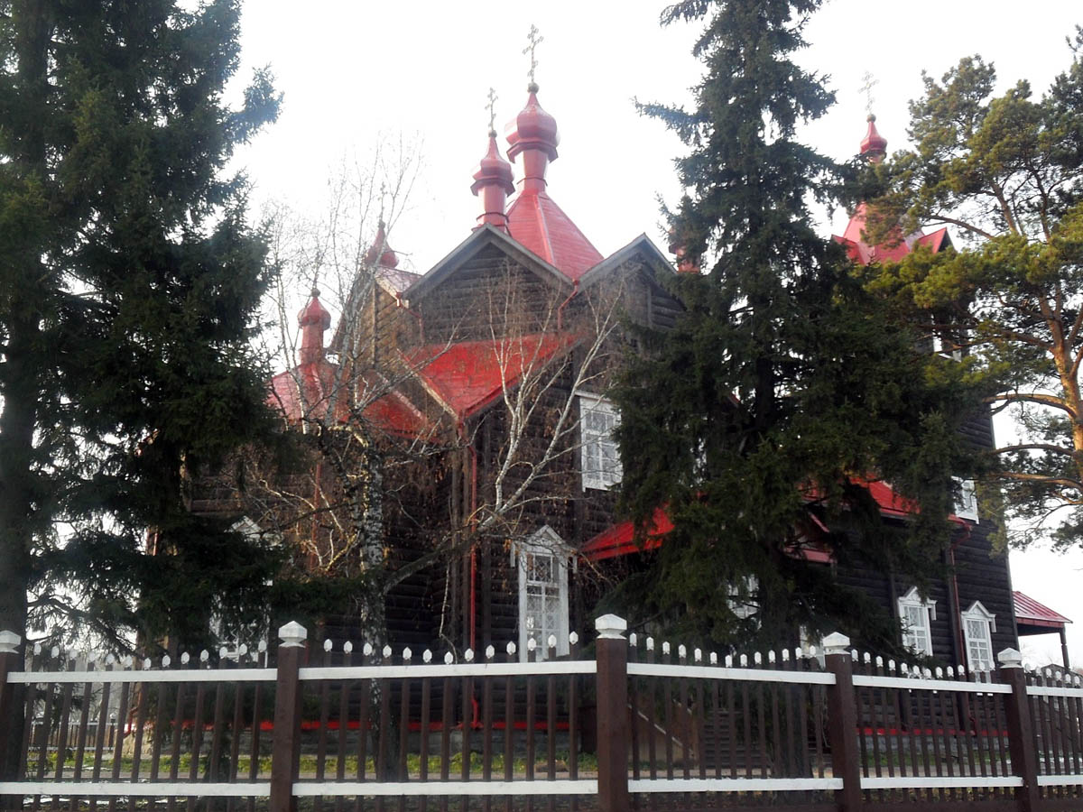 церковь Фёдора Томского в Турнаево