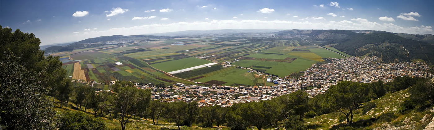 вид с горы Фавор (панорама)