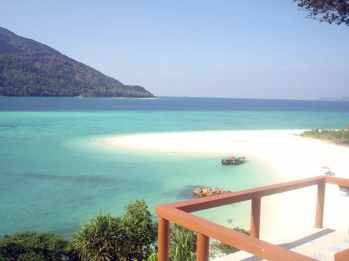 вид с острова Ко Липе на Андаманское море