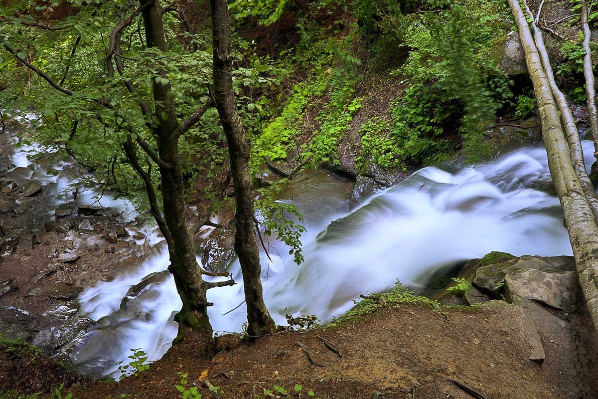 водопад Шипот, Закарпатская область, Украина