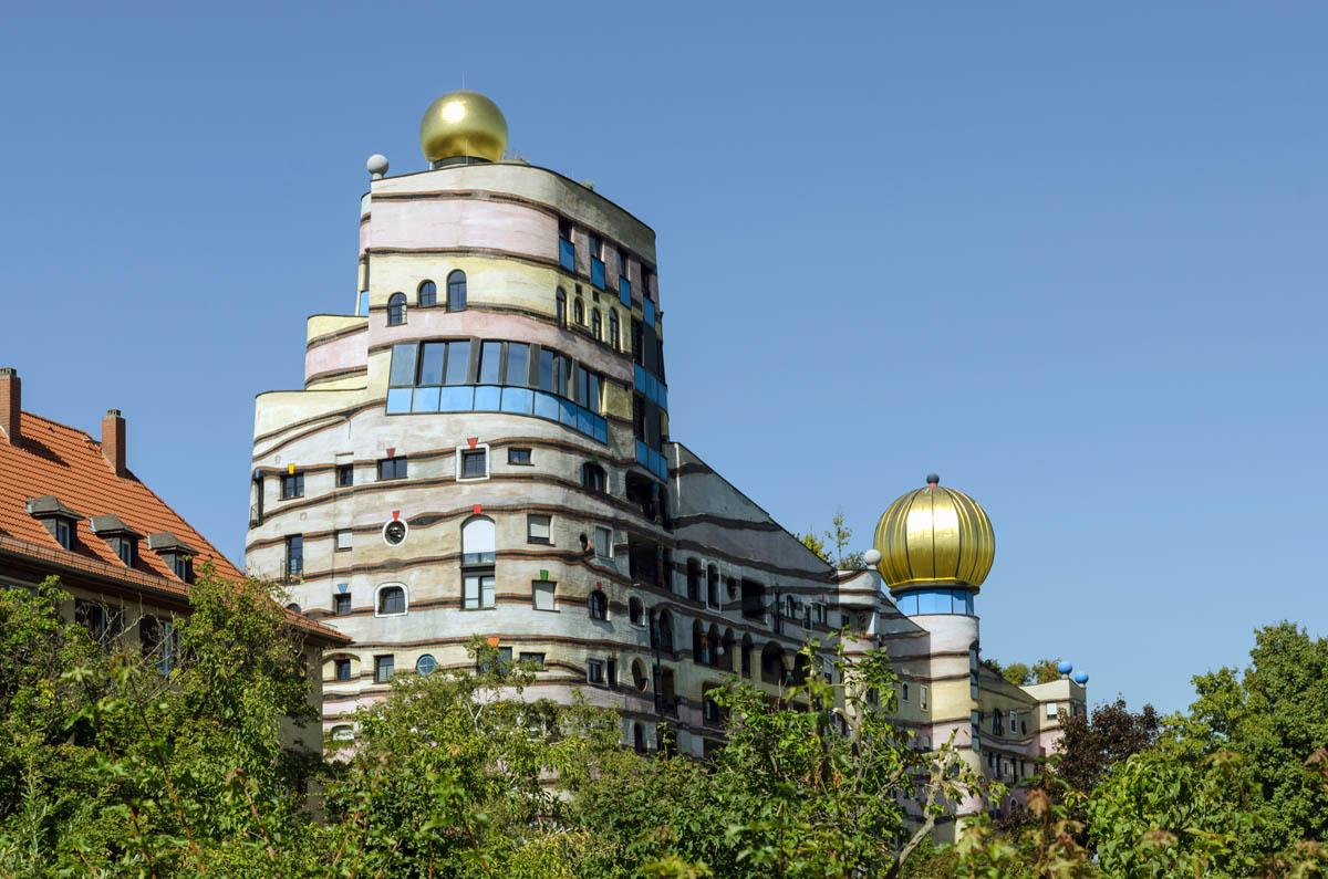 жилой комплекс Лесная спираль, Дармштад, Германия