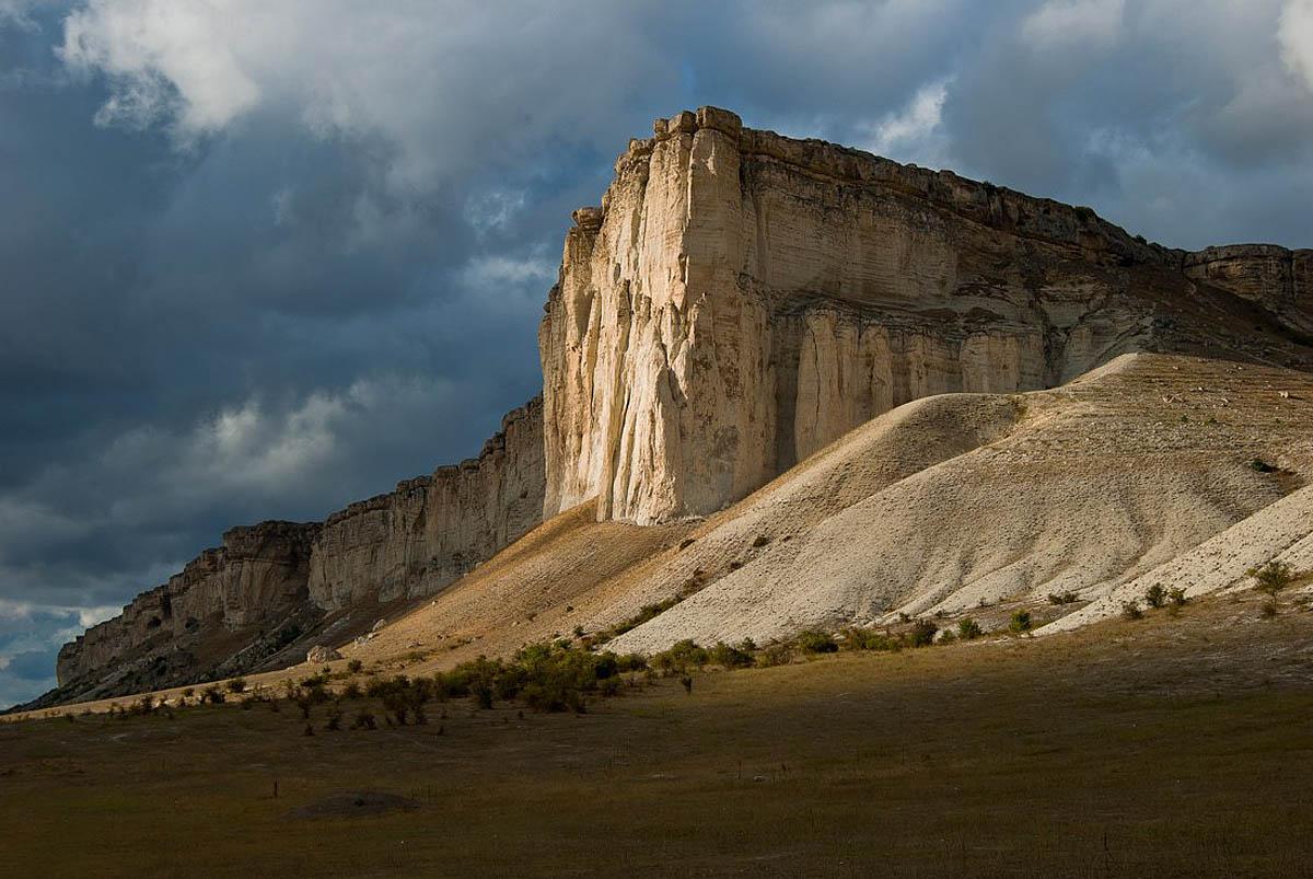 Белая скала, Белогорск, Крым