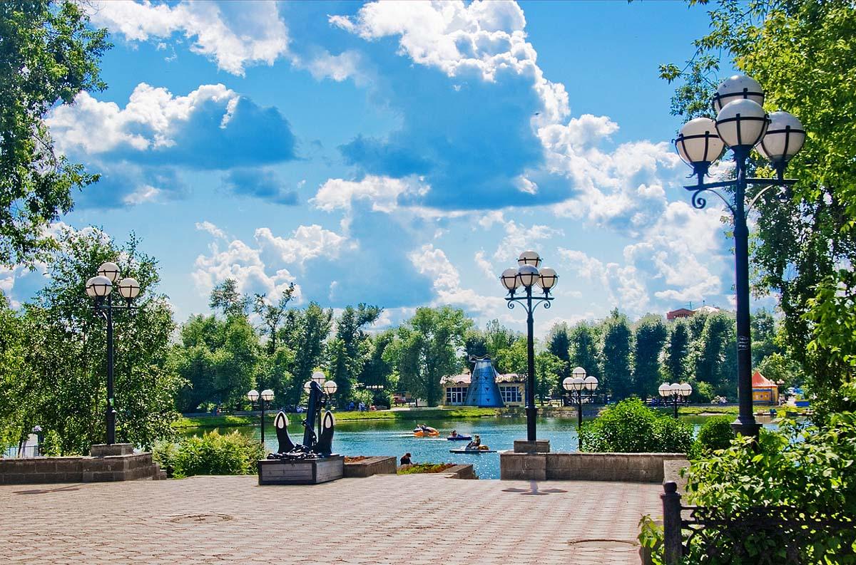 Белое озеро, Томск, Россия