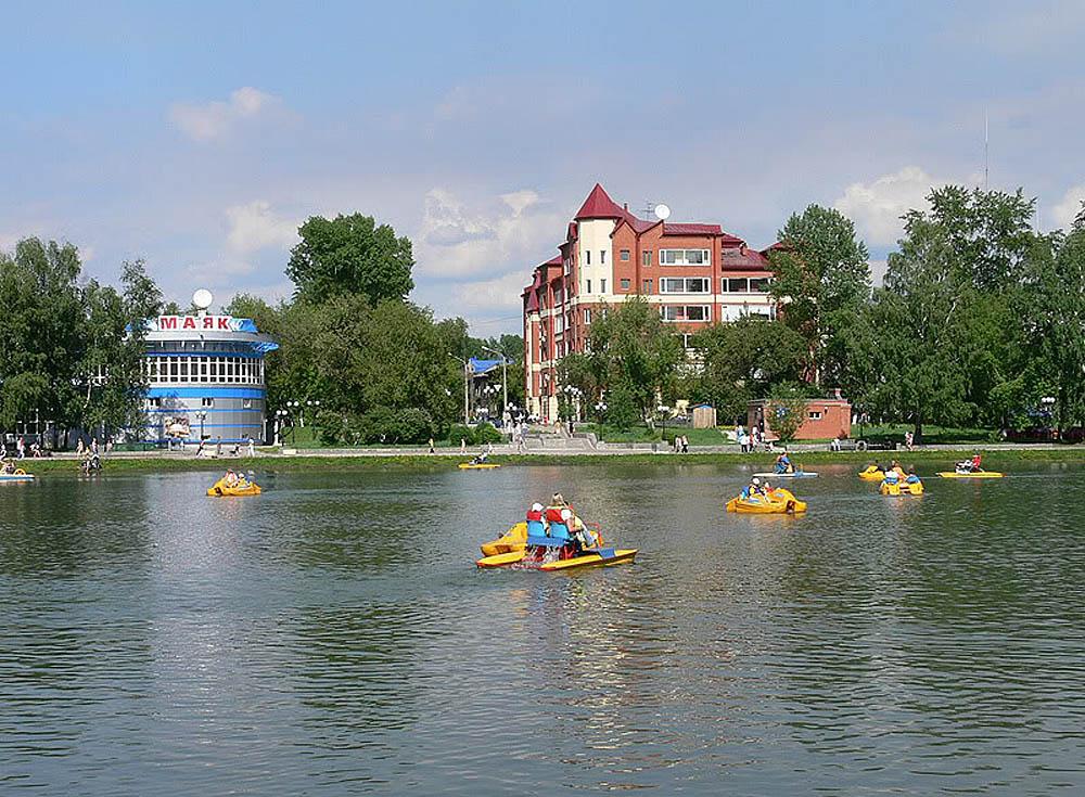 Белое озеро Томска, Россия