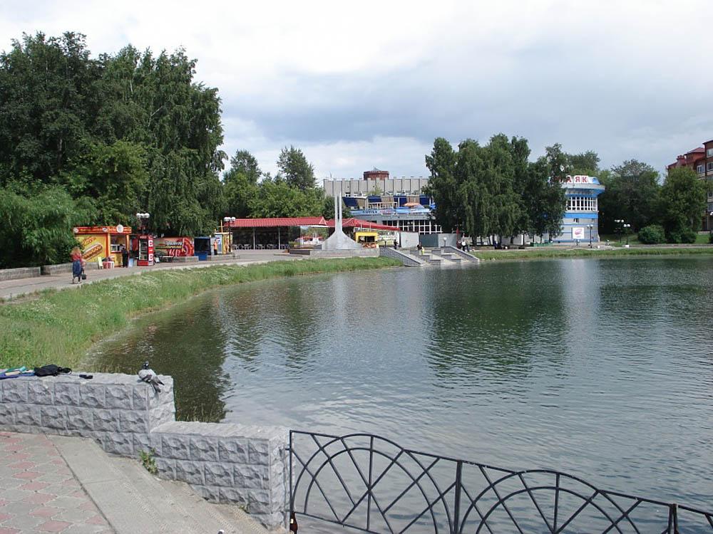 Белое озеро Томска