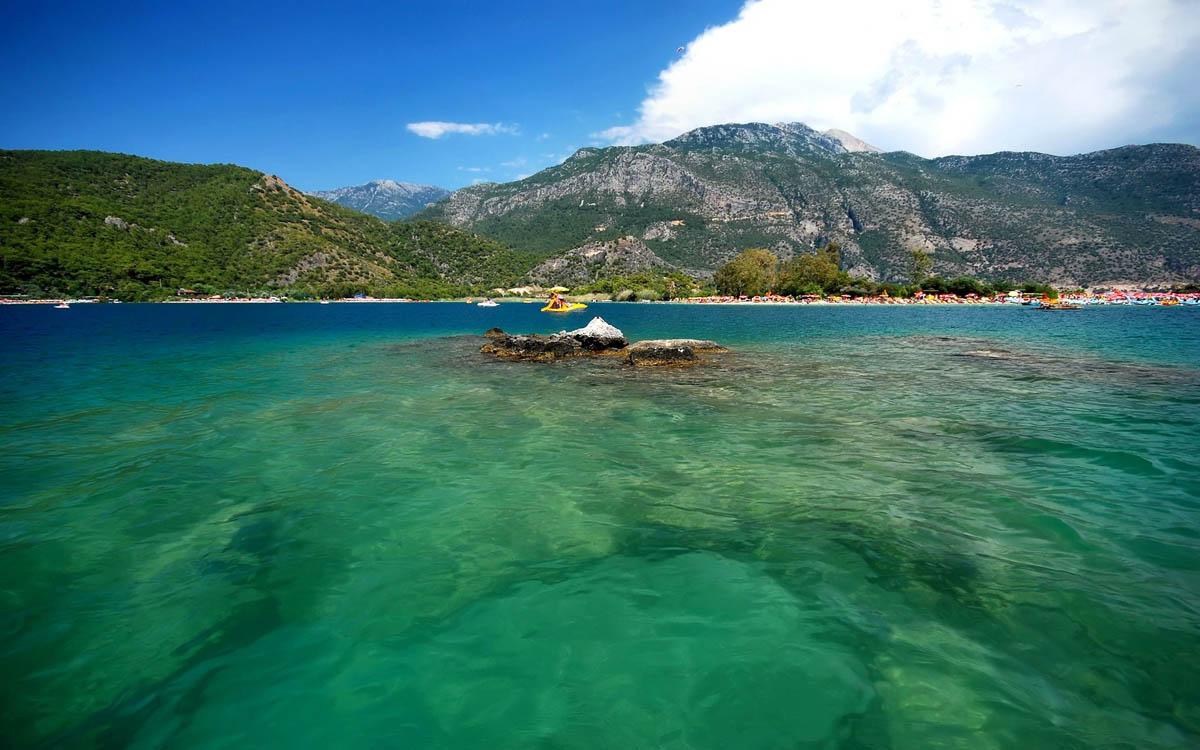 Blekitna laguna, Oludeniz, Turcja