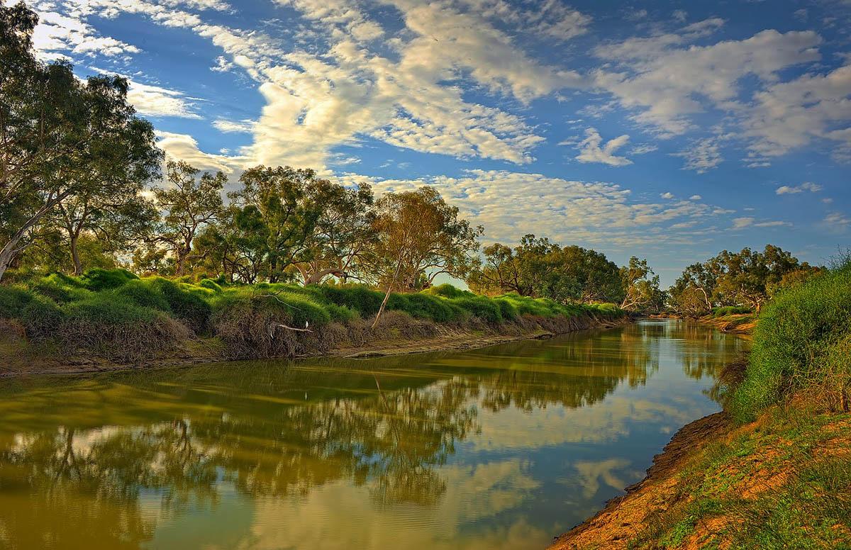 Cooper Creek river, Queensland, Australia