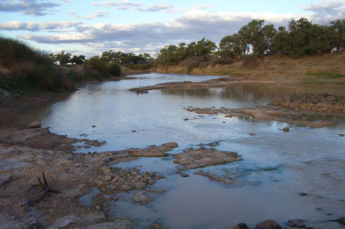 Diamantina River, Birdsville, Queensland, Australia