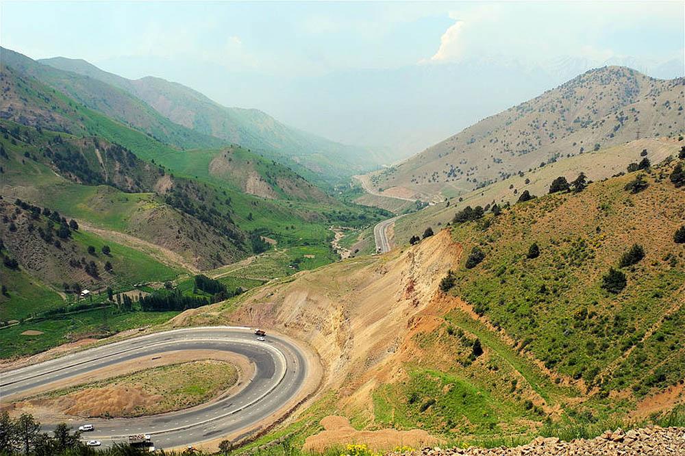Ферганская долина в Узбекистане, Центральная Азия