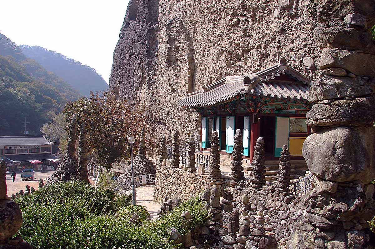 Каменная Пагода, гора Майсан, Южная Корея