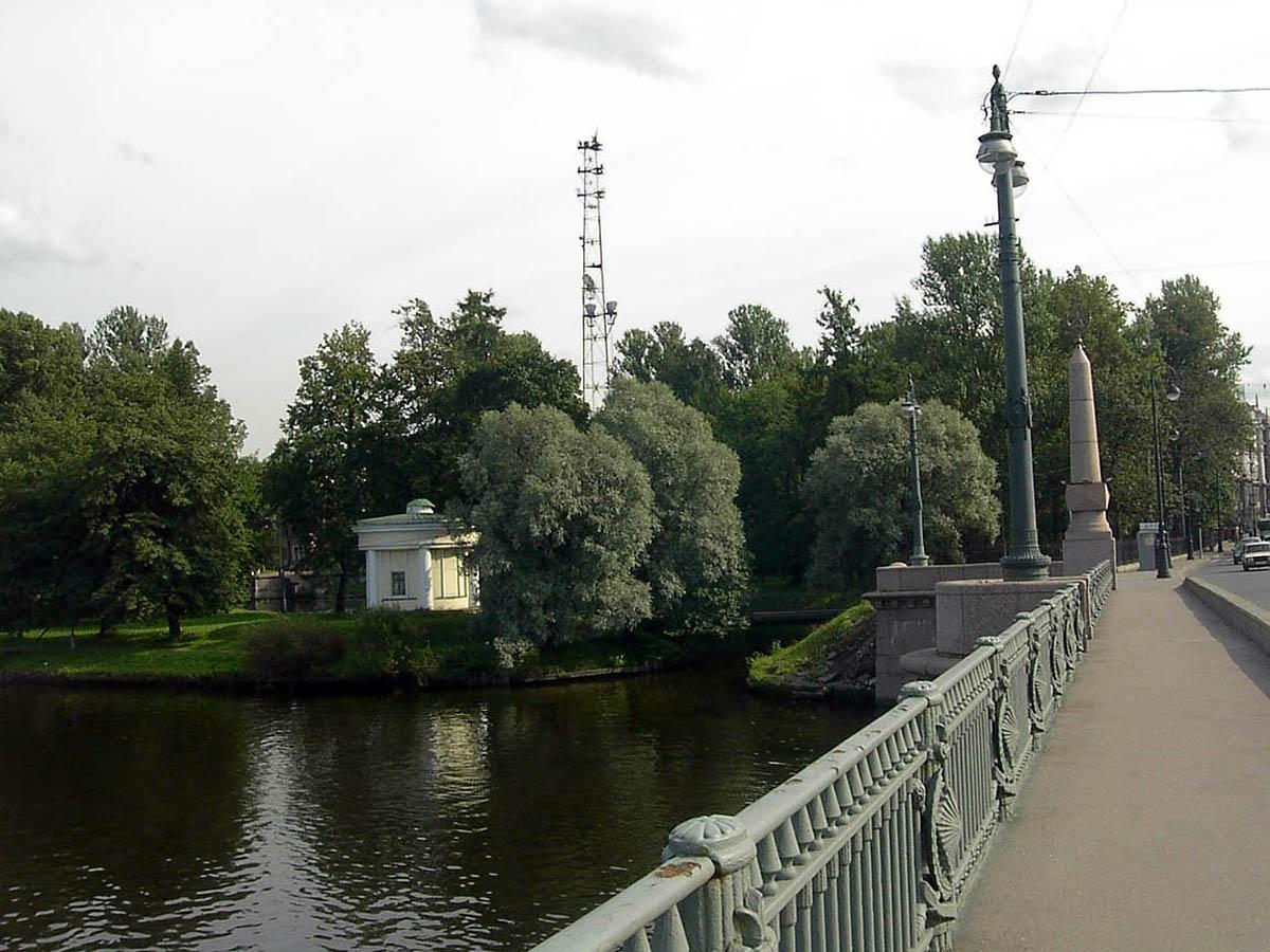 Каменноостровский мост, Лопухинский сад, Санкт-Петербург
