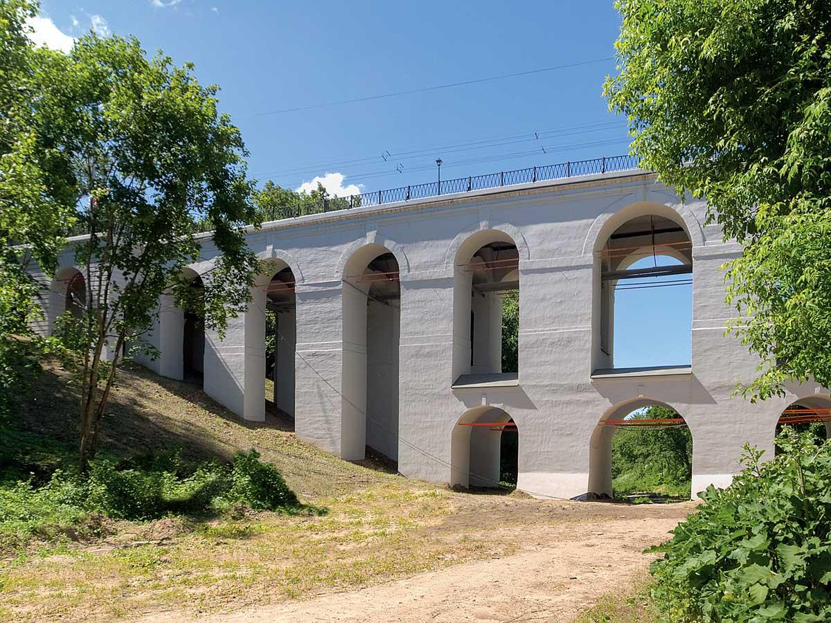 Каменный мост, Березуевский овраг, Калуга
