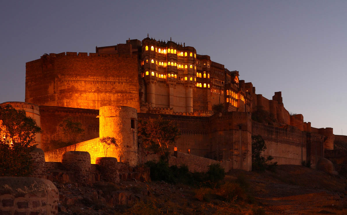Mehrangarh Fort Palace, Jodhpur, India