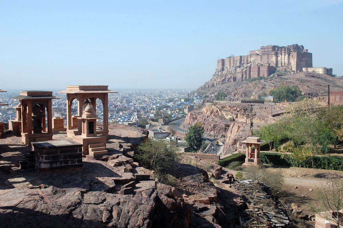 Mehrangarh Fort Palace, Jodhpur, Rajasthan, India