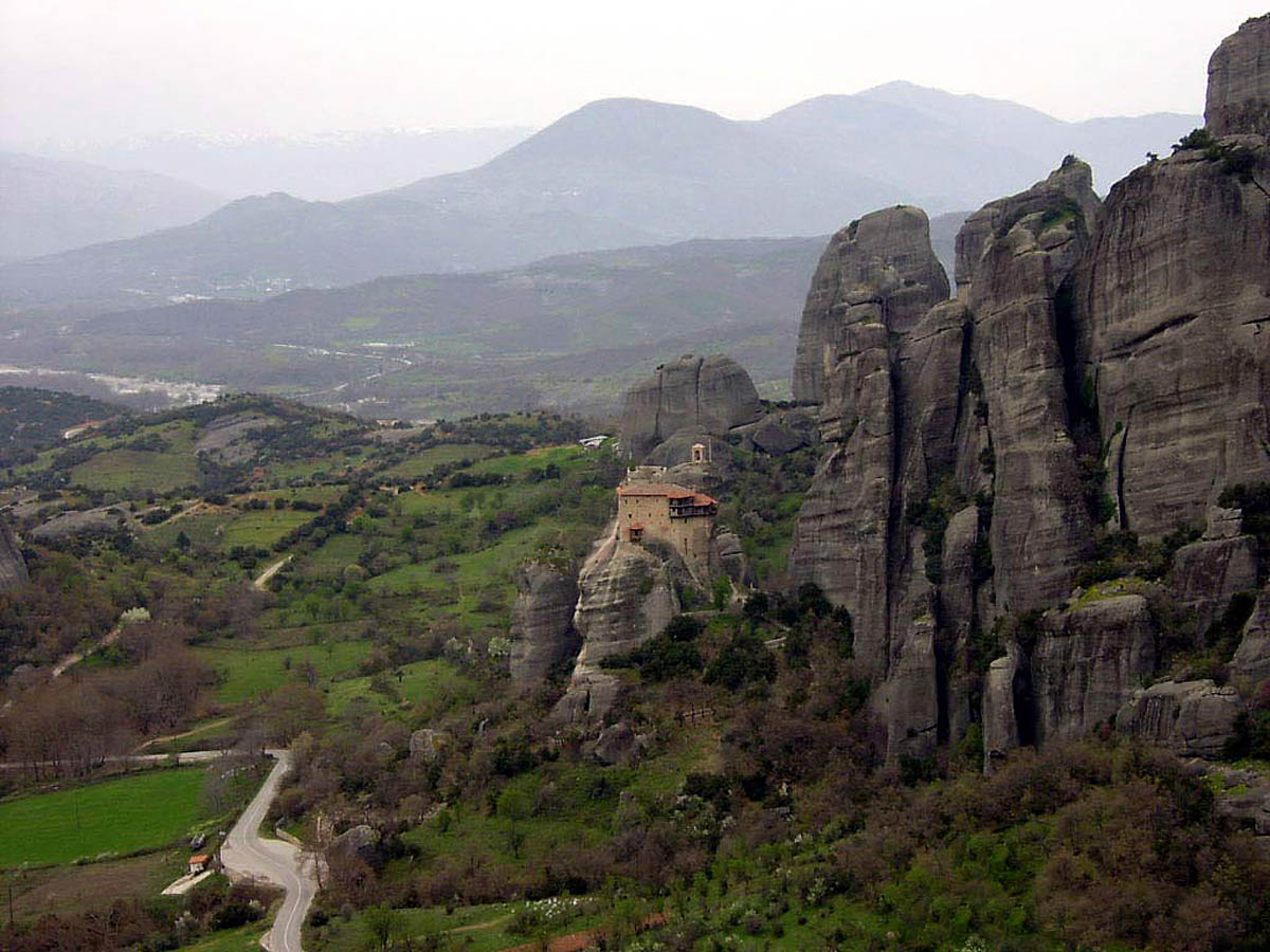 Национальный парк Пинд в Греции