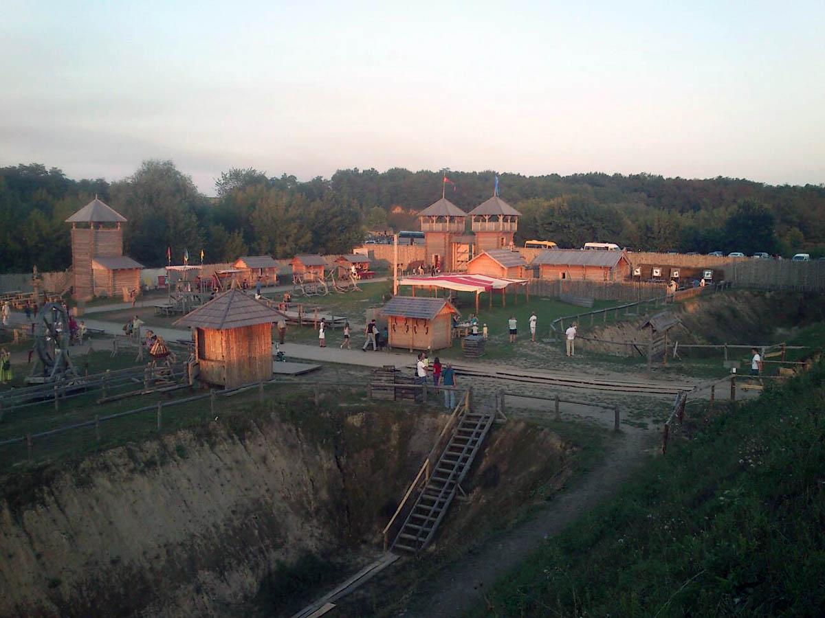 Парк Киевская Русь в Киеве, Украина