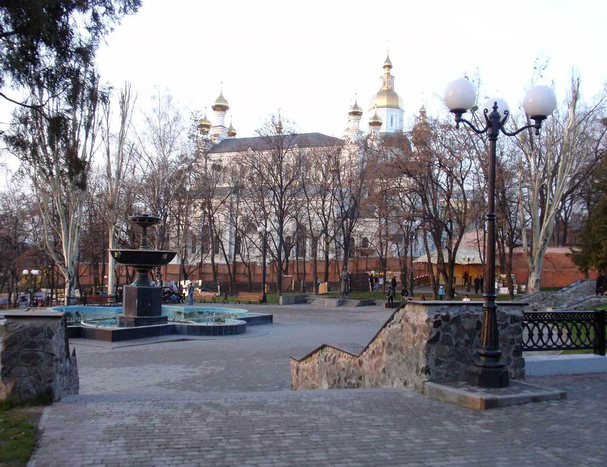 Покровский сквер в Харькове