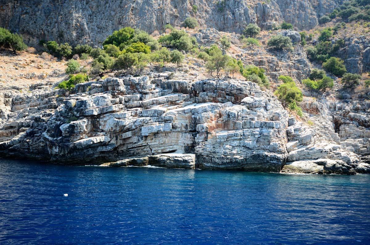 Природный парк Олюдениз-Кидрак в Турции