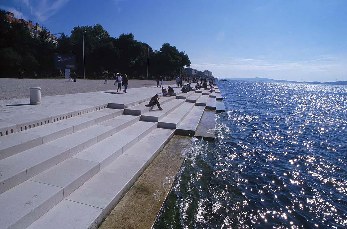Sea organ, Croatia
