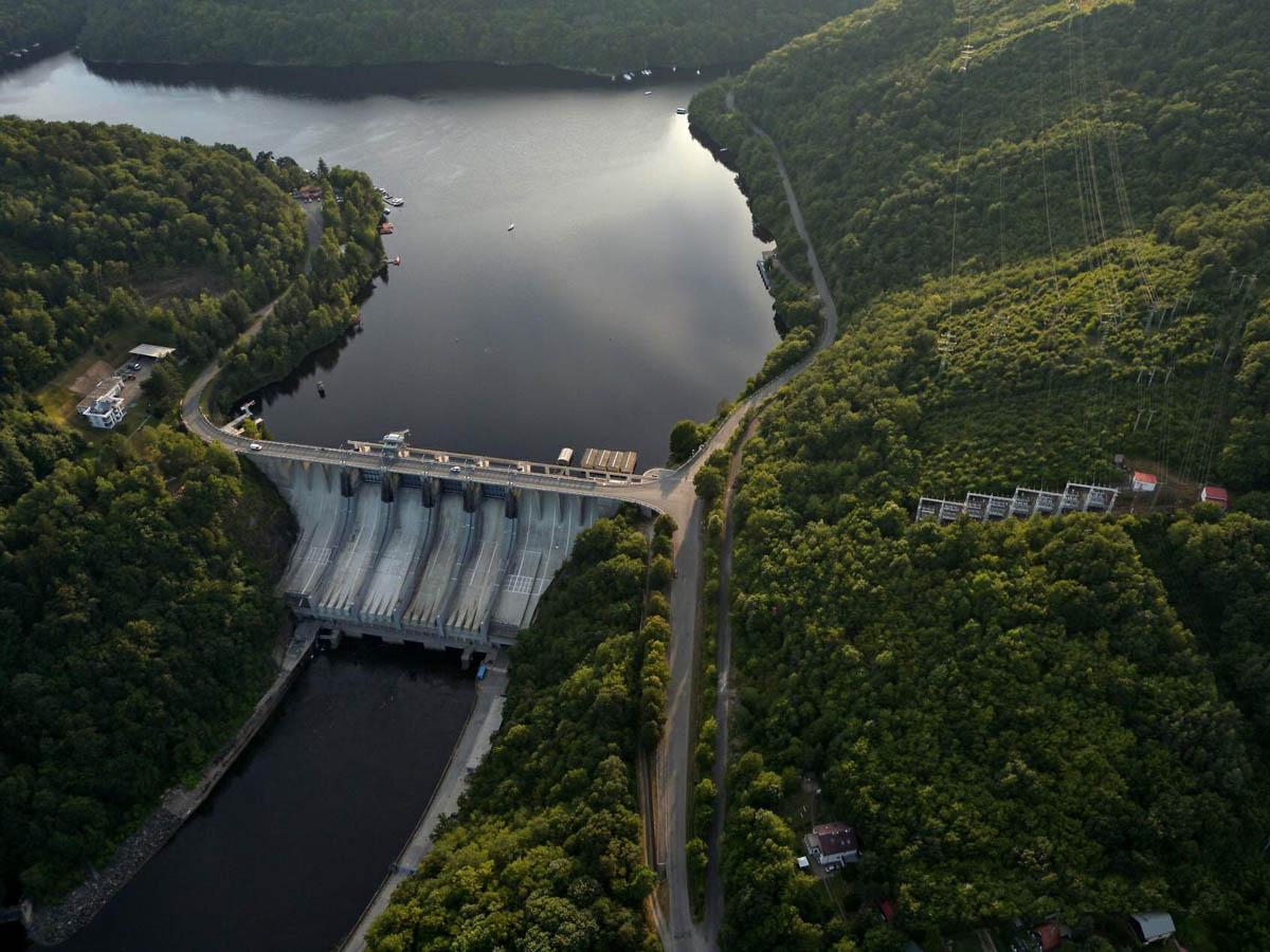 Слапская гидроэлектростанция, Прага, Чехия