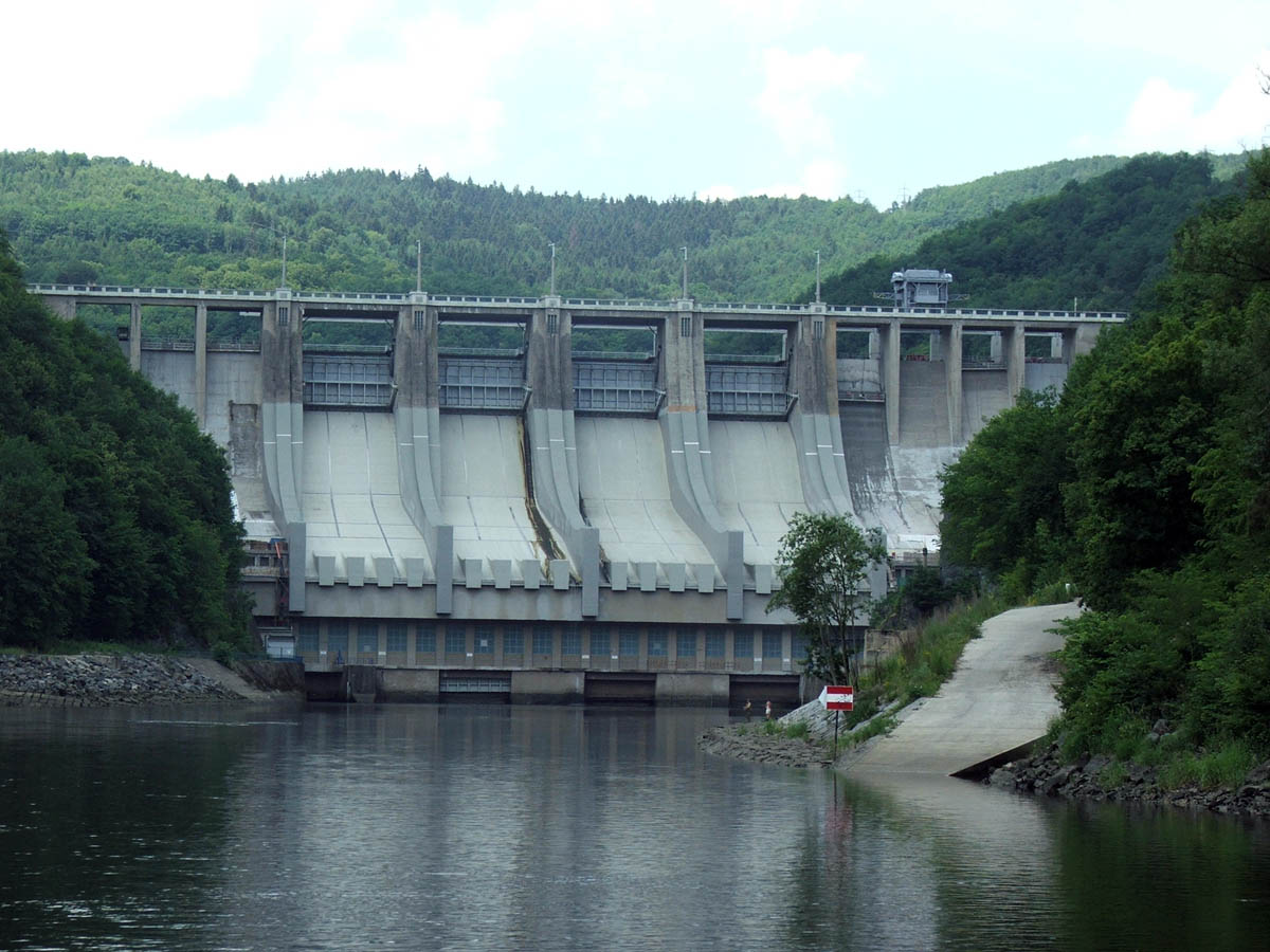 Slapy Hydroelectric Power Station