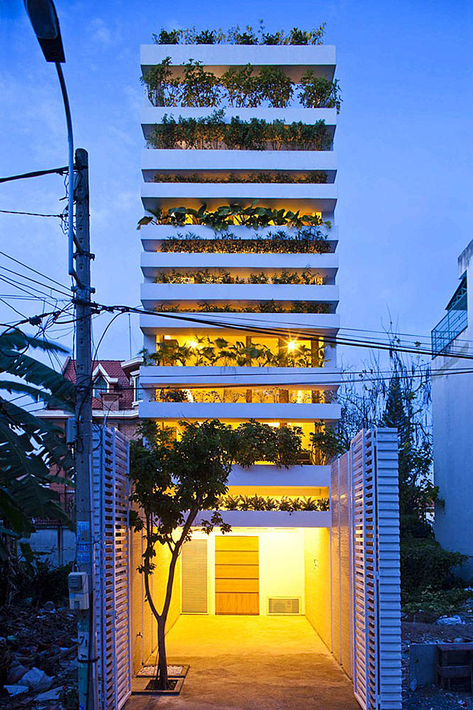 Stacking Green House, Saigon, Vietnam
