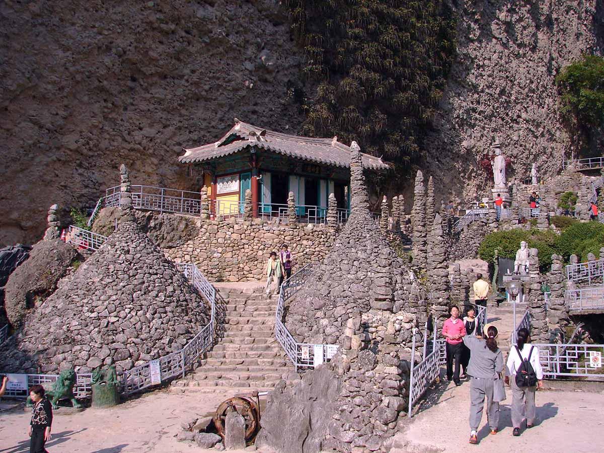 Tapsa and Stone Pagodas, Jinan, Korea