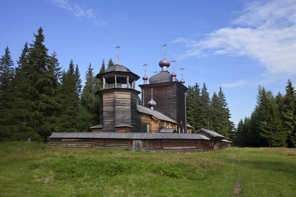 Водлозерский Национальный парк в Карелии