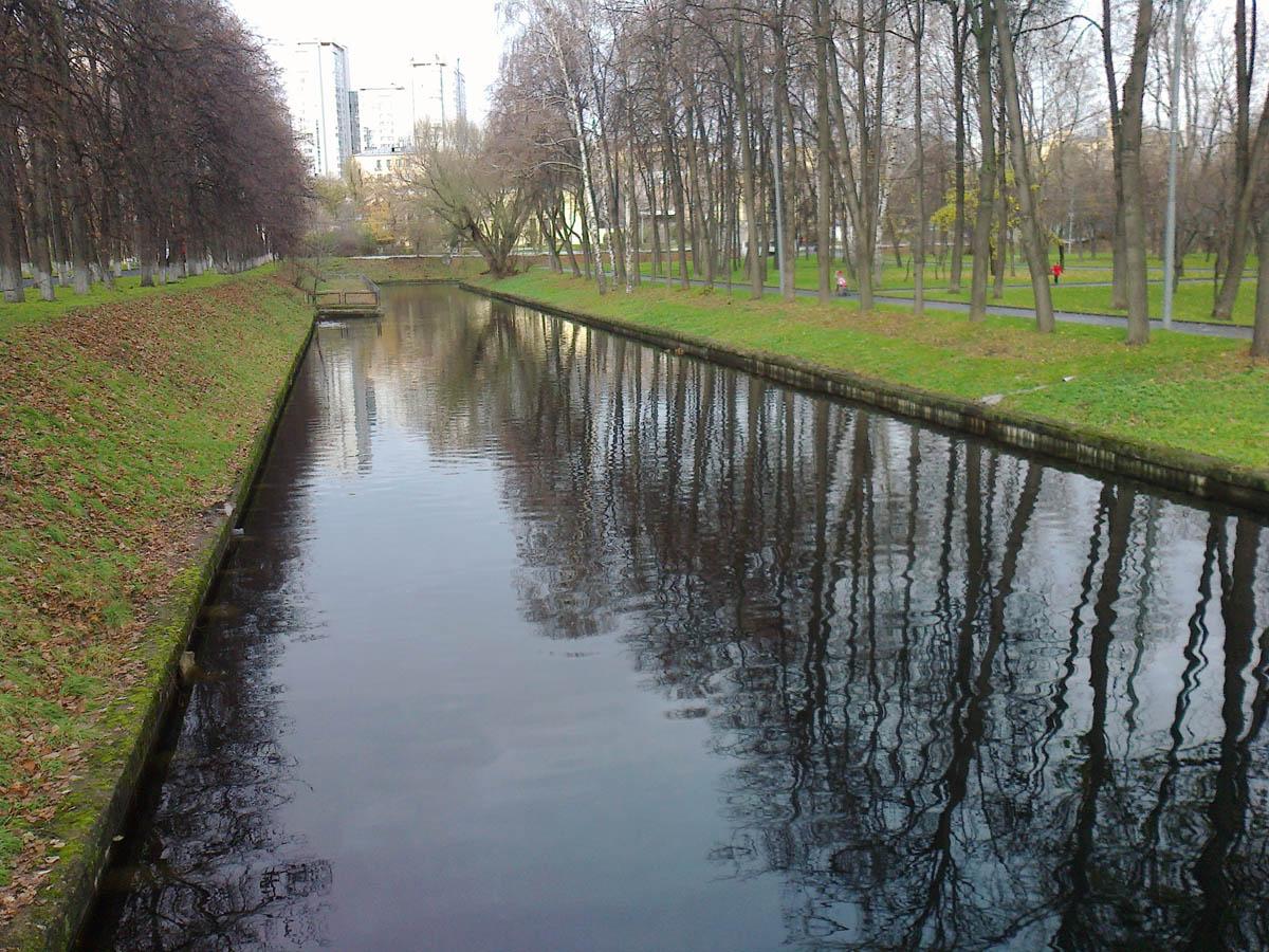 Восточный пруд в Красной Пресне, Москва