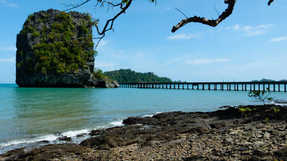West dock of Koh Tarutao, Thailand